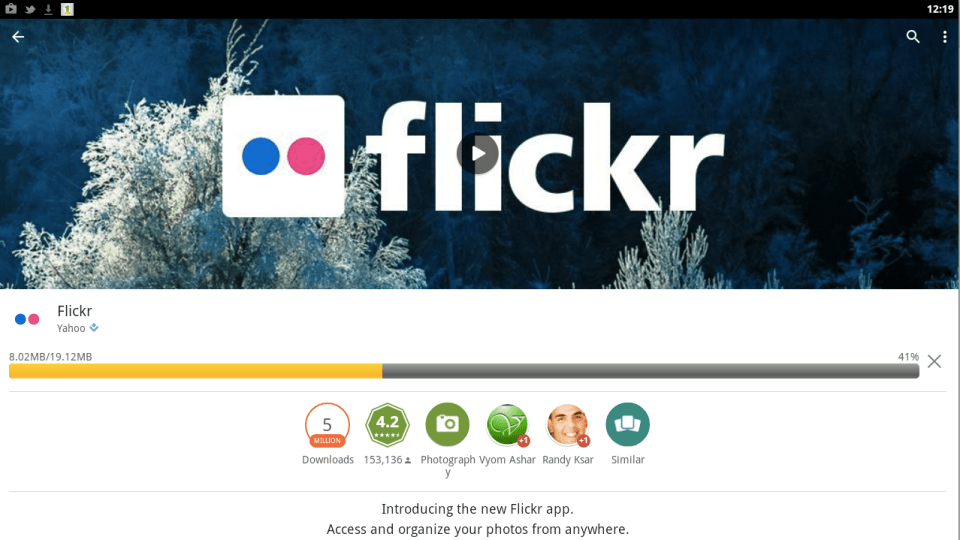 Flickr for PC 4