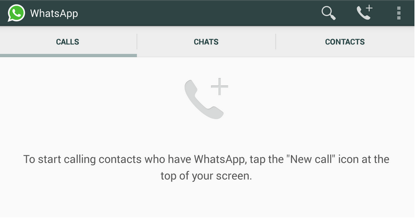 WhatsApp Voice Calls TechRaze