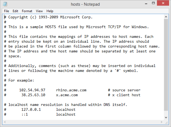 windows-8-1-hosts-file