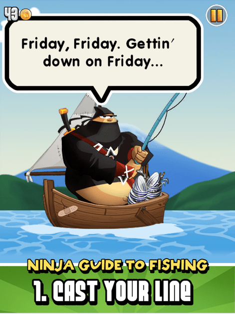 Ninja Fishing APK 2