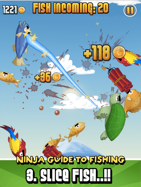 Ninja Fishing APK 4