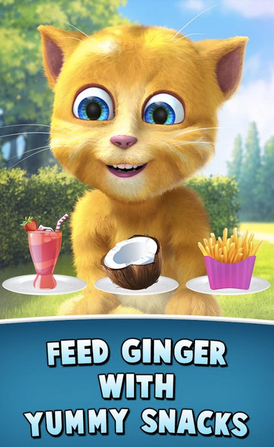 Talking Ginger 2 APK 3