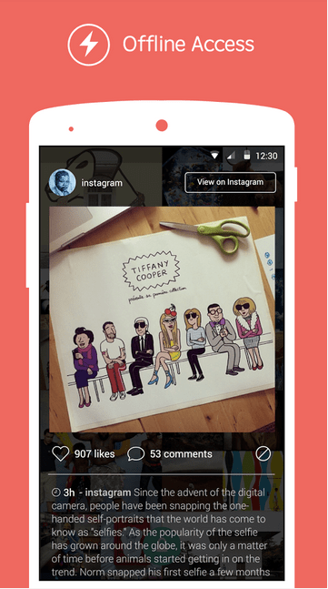 Tiles Instagram Lock Screen APK 3