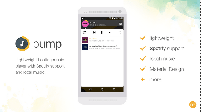 Bump Music Player APK 1