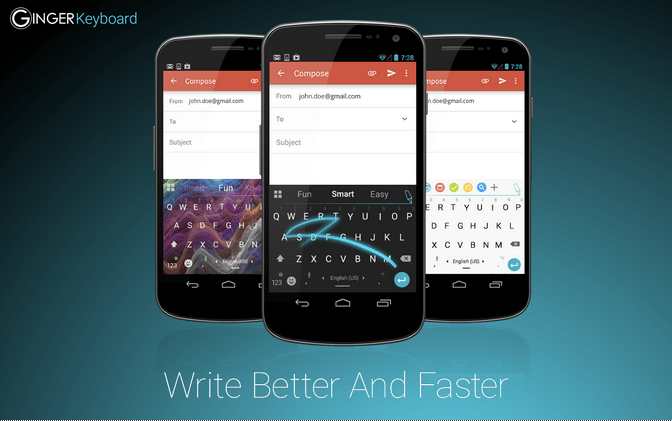 Ginger Keyboard APK 3