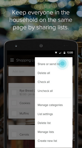 Out of Milk Shopping List APK 3