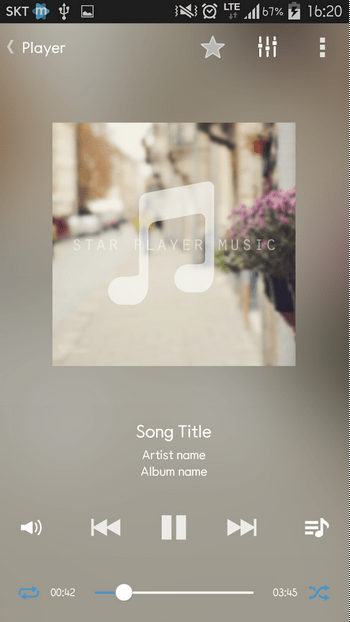 Star Music Player APK 2