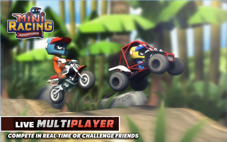 Mini Racing Adventures APK 2