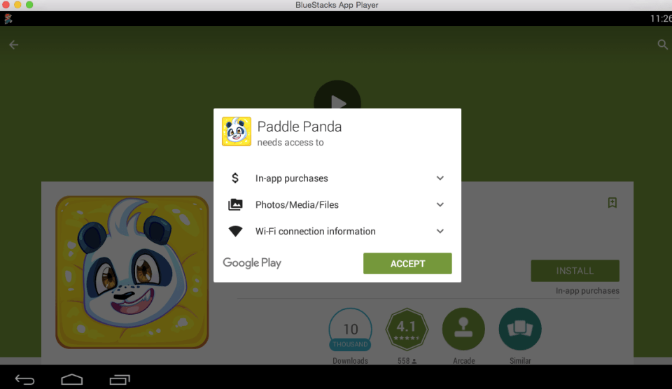 Paddle Panda for PC 6