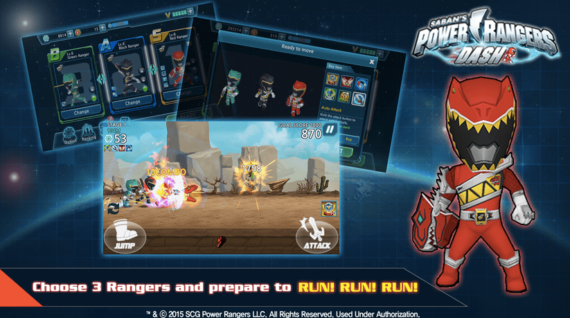 Power Rangers Dash APK 2