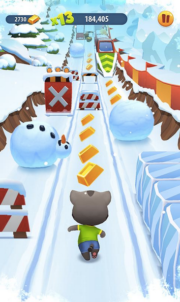 Talking Tom Gold Run APK 4