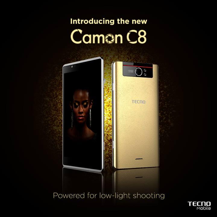 Tecno Camon C8