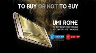 UMi Rome promo buy
