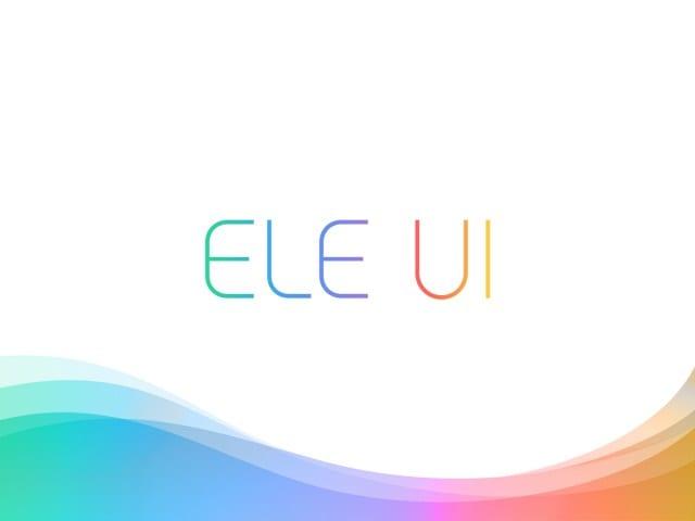 Elephone ELE UI
