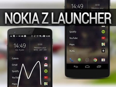 Z Launcher by Nokia