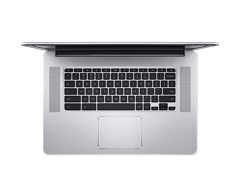 Aspire E 15's Keyboard and Touchpad