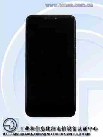 Lenovo S5 Pro TENAA frotnt 1