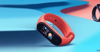 Xiaomi Mi Band 4 red color