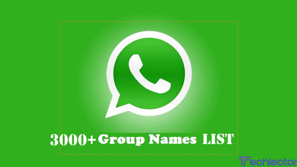3000 Funny Group Chat Names for Family Friends Girls Boys and Team scaled