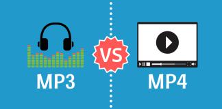 MP3 vs MP4