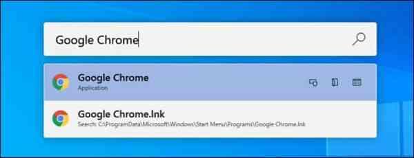 Chrome Result