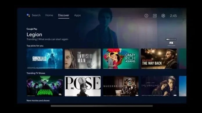 Android Tv Discover