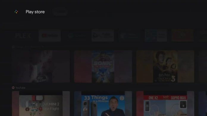 Chromecast Google Tv Play Store Voice Search Play Store