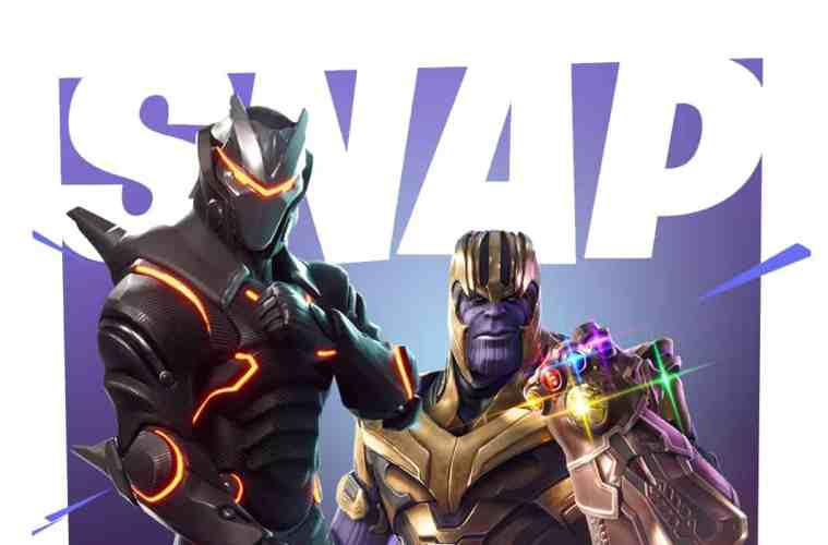 """Thanos joins Fortnite: Battle Royale for a """"limited time mashup"""""""