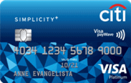 Best Credit Card Philippines No Annual Fee simplicity-card
