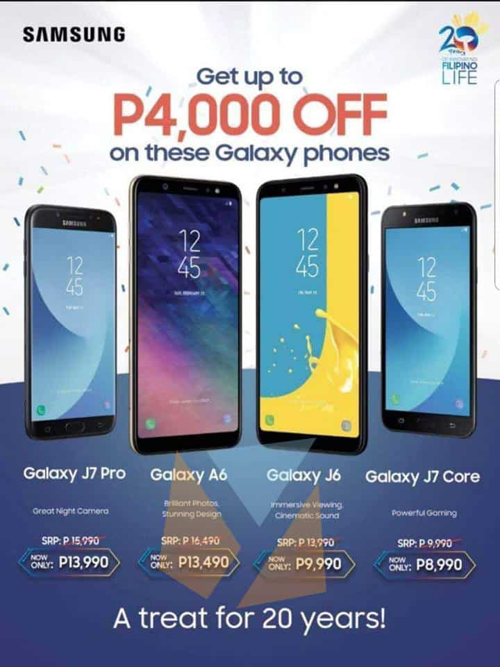 Samsung Galaxy A6, J6, and more get price cuts