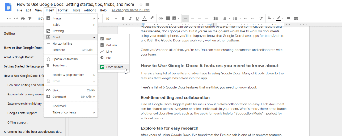 How to Use Google Docs: Getting started, tips, tricks, and more