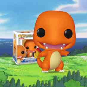 New Pokémon Funko Pops unveil Funko-fied Charmander and Pikachu