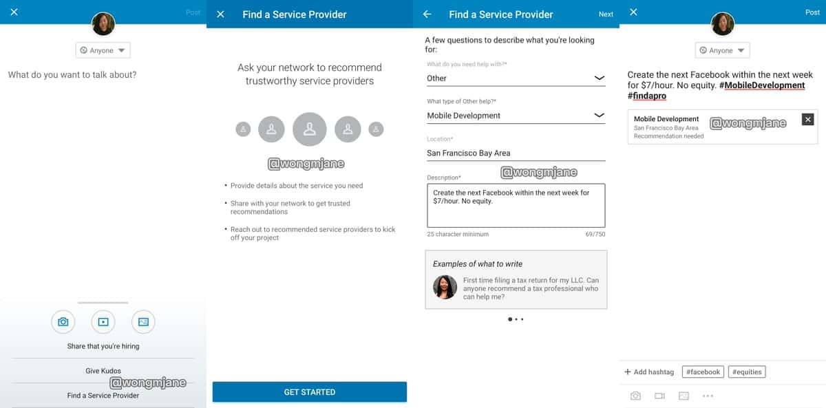 """LinkedIn """"Services"""" Feature: Sell services on your LinkedIn profile"""
