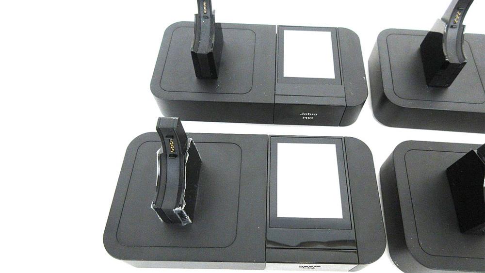 Jabra 9400bs Wireless Headset Base With Ac Adapter Lot Of 4 Techrenew