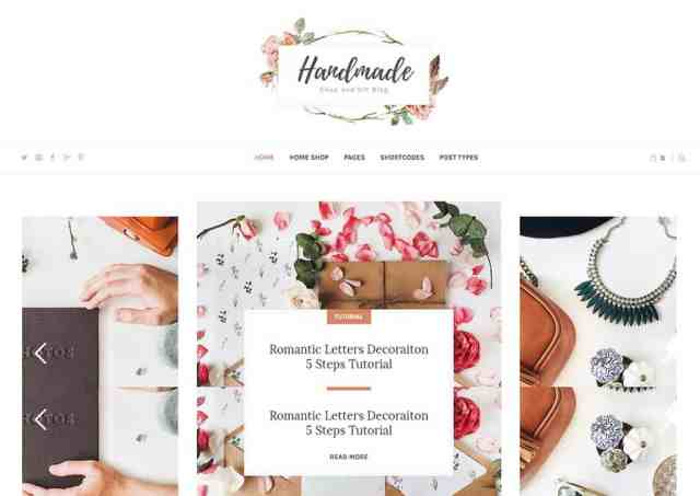 Handmade Shop theme