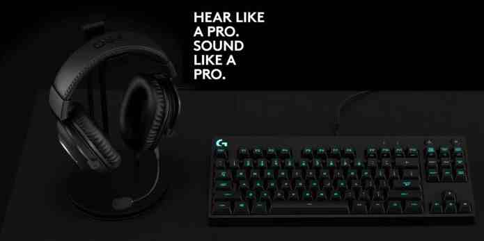 Logitech Presents PRO and PRO X Gaming Headsets