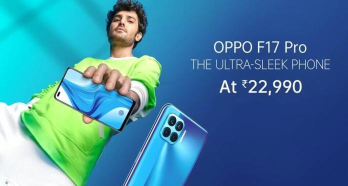 Oppo F17 Pro available onAmazonandFlipkart