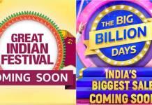 Flipkart Big Billion Day, Amazon Great Indian sales teased ahead of festive season