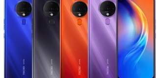 Tecno Spark 6 With Quad Rear Cameras, MediaTek Helio G70 SoC Launched