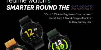 Realme Watch S is set to make its global debut on November 2