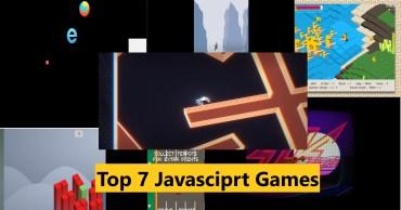 Amazing Javascript games of JS13K