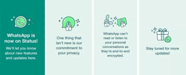 WhatsApp is now on status