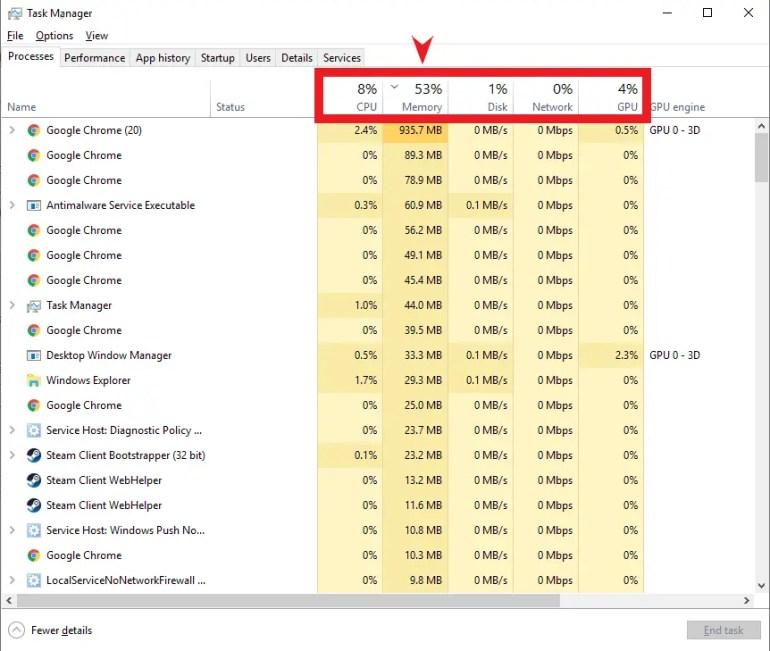 Task Manager get rid of virus