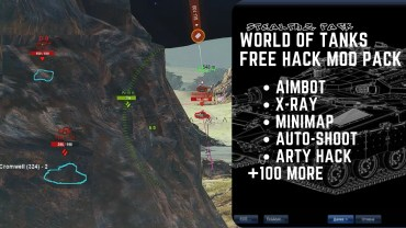 world of tanks free hack mod pack
