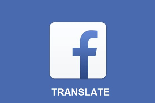 Facebook translator
