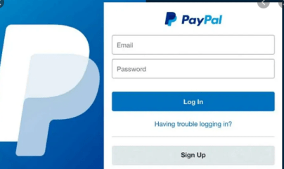 paypal login problems