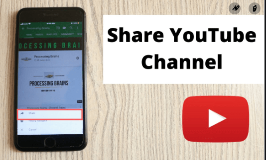 How to share youtube video
