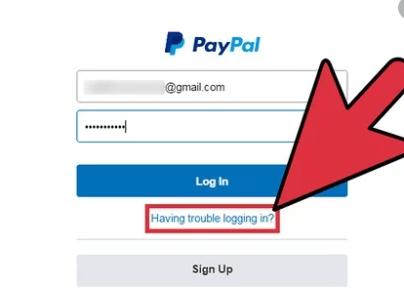 paypal password reecovery