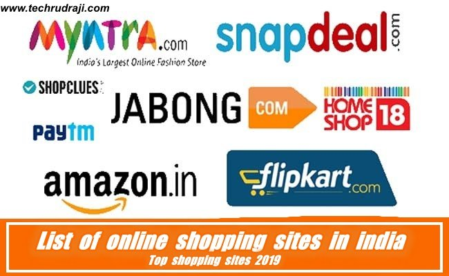 Top list of online shopping sites in india | shopping sites 2019