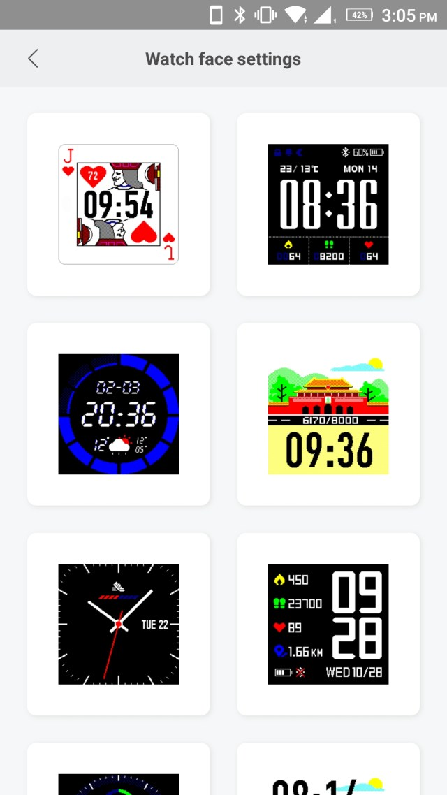 Amazfit Bip Watch Faces